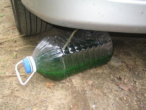 Замена охлаждающей жидкости на Лансер 9