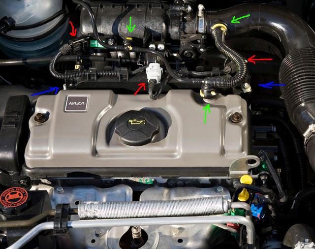 Замена свечей зажигания на Peugeot 206