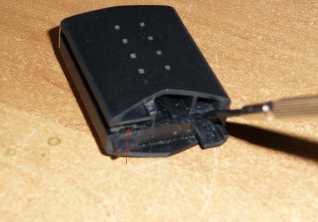 Замена батарейки в штатном ключе Мазда 3