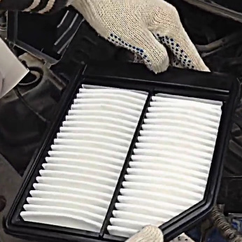 Замена воздушного фильтра Хонда Сивик 4Д