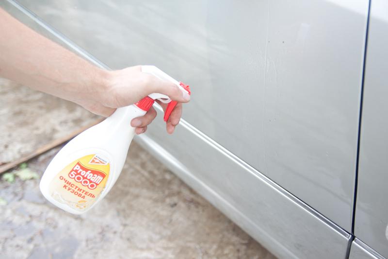 Как удалить битумные пятна с автомобиля своими руками