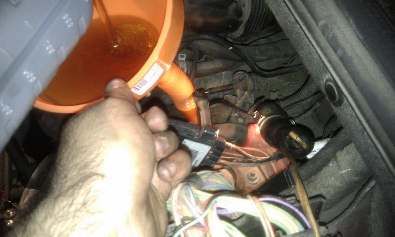 Замена масла в АКПП на Пежо 308