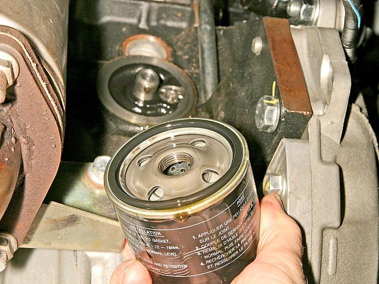 Замена масла в двигателе Шевроле Лачетти