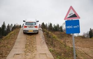 Контроль спуска с горы HDC