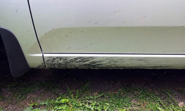 Удаление битумных пятен с авто