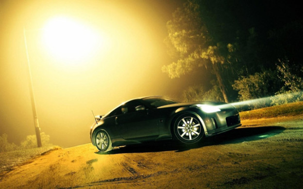 вождении автомобиля в туманную погоду