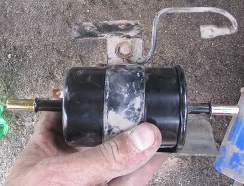 Замена топливного фильтра Шевроле Авео